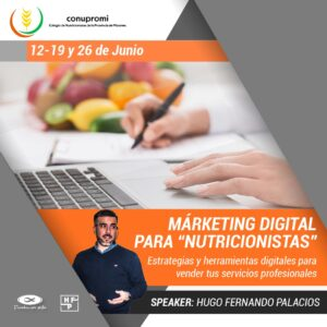 Curso de Marketing Para Nutricionistas – Primer Capacitación del 2020